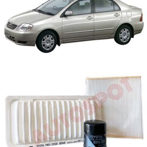 TOYOTA COROLLA 121 - FILTER PACKAGE
